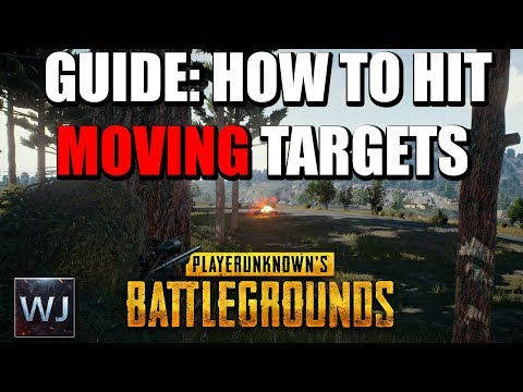 GUIDE: How to CONSISTENTLY hit MOVING targets at range - PLAYERUNKNOWN's BATTLEGROUNDS (PUBG) (видео)