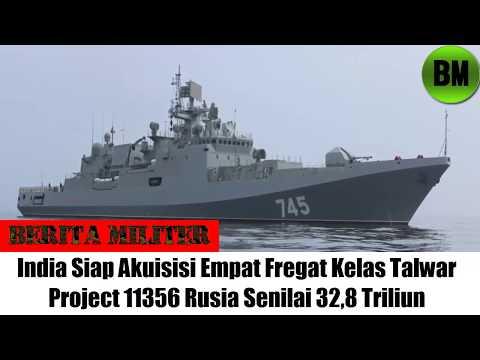 Berita Militer, India Siap Akuisisi Empat Fregat Kelas Talwar Rusia Senilai 32,8 Triliun