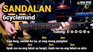 Sandalan - 6cyclemind (Guitar Chords Tutorial with Lyrics)