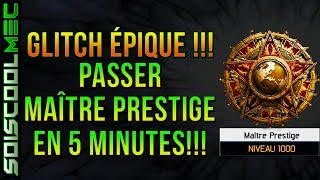 PASSER MAITRE PRESTIGE EN 5 MINUTES GLITCH EPIQUE FACILE RAPIDE AFTER