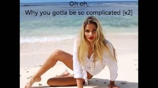 Pia Mia - Complicated (lyrics)