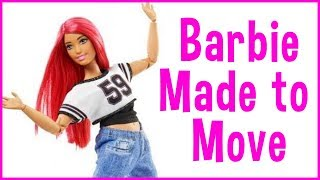 Barbie Made To Move Dancer Curvy Style Body Barbie Doll Review