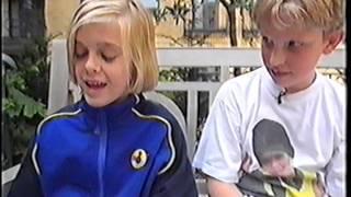 Aaron Carter Splat Attack 1998 (Disney Channel)