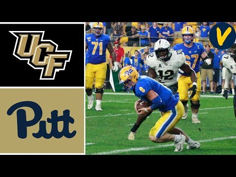 NCAAF Week 4 #15 UCF vs Pitt College Football Full Game Highlights