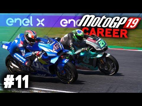 MotoGP 19 Career Mode Gameplay Part 11 - FIRST WIN? (MotoGP 2019 Game Career Mode PS4 / PC)