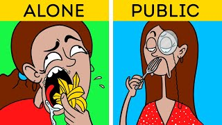 WHEN FOOD IS LIFE || Funny Situations and Relatable Moments by 123 GO! Animated