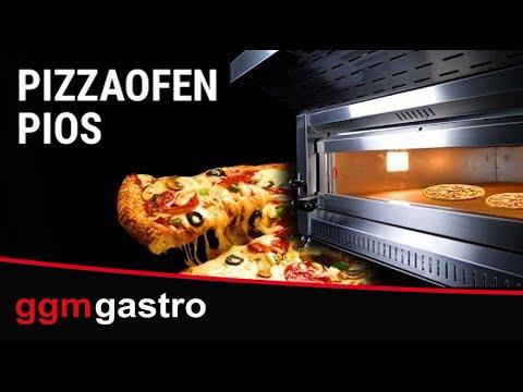 Pizzaofen inkl. Untergestell PIOS - GGM Gastro