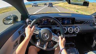 [WR Magazine] 2021 Mercedes-AMG CLA45 4Matic+ - POV Test Drive (Binaural Audio)