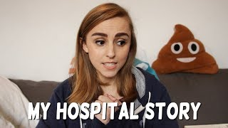 I spent 4 weeks in hospital   Hannah Witton