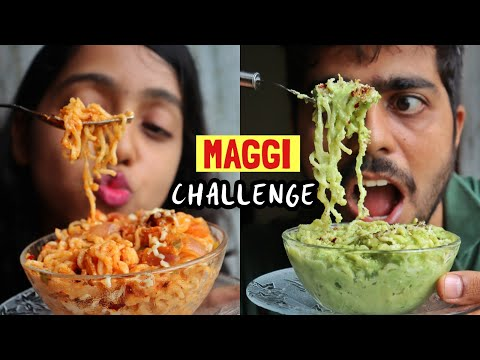 Maggi Recipe Challenge | Indian food | Who cooked better | Cook #WithMe | Anagha Mirgal