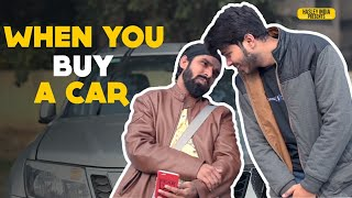 WHEN YOU BUY A CAR | Hasley India