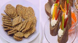 شرائح خبز مشبعة - افكار كانبيهات صحية | حلو و حادق حلقة كاملة