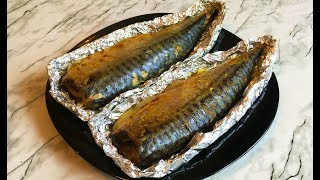 Скумбрия в Фольге Запеченная в Духовке / Baked Mackerel / Блюда из Рыбы / Простой Рецепт
