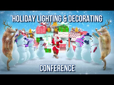 Join us the Christmas Expo Holiday Lighting & Decorating Conference