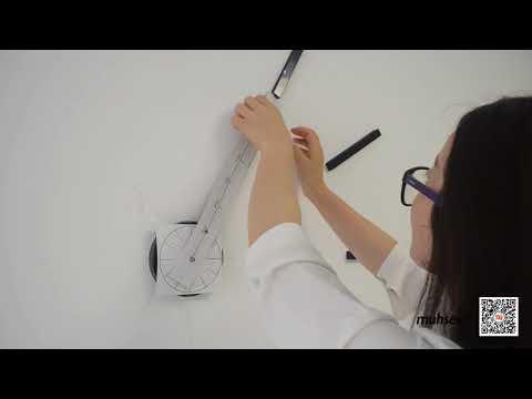 Instalación de reloj 3D gigante de pared INSIEME DESIGN
