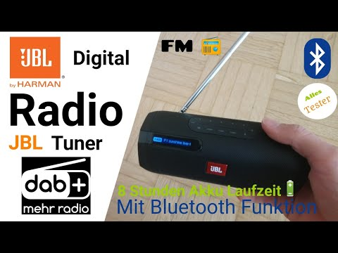 JBL Tuner DAB+ & FM Radio mit bluetooth Funktion (Auspacken)