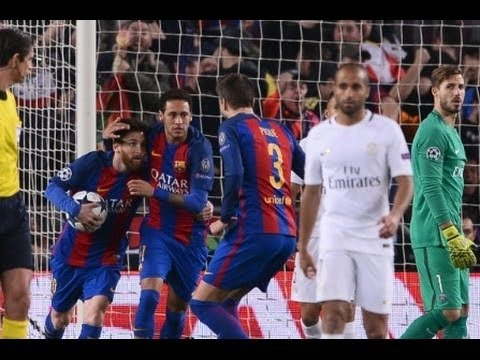 Barcelona vs Paris Saint-Germain 6-1 *GREATEST COMEBACK* All Goals & Highlights - UCL 08/03/2017 HD