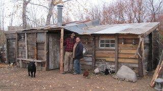 Idaho Hillbillies Homestead # 43 Building a 50 Dollar Cabin