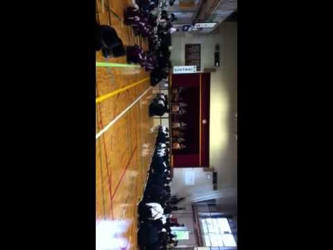 橋戸小学校 太鼓発表 2012.07/01