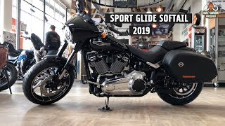 New Sport Glide 107 Harley-Davidson 2019 vivid black