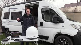 Automatische Camping Sat Anlage mit WLAN Streaming Kathrein CAP500M Plus