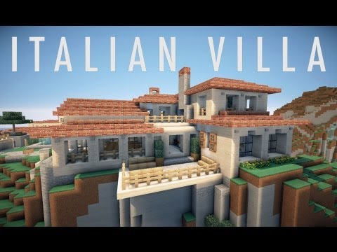 Italian villa on world of keralis minecraft project gumiabroncs Gallery