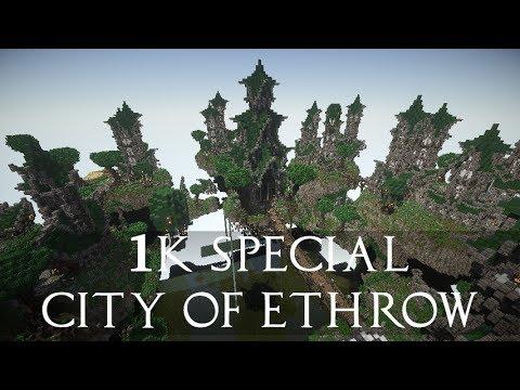 Elven City Of Ethrow Minecraft Map