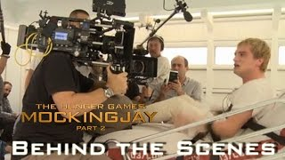 Джош Хатчерсон, Mockingjay Part 2 - Behind The Scenes - Performances of Josh in Peeta