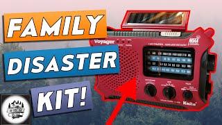 BASIC DISASTER SUPPLY KIT FOR 2020 | Emergency Kit For A Family Of Four