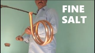 How to bend a copper tube