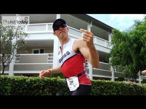 Isaac takes on the Challenge Laguna Phuket triathlon