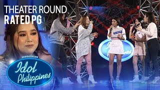 "Rated PG sings ""Born This Way"" at Theater Round 