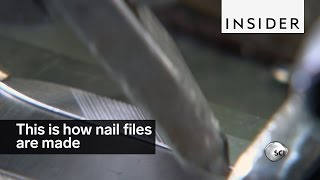 This is how nail files are made