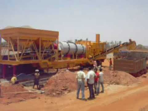 Mobile Asphalt Plant and Hot Mix Plant Manufacturer | Leo Road