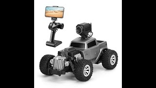 2.4G RC FPV Retro Vintage Car Toy, HD 720P Camera, 20KM/H High Speed, 1:16 Scale, Kid Boy Gift, 2071