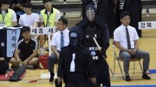 2019 용인대총장기 중고등학교검도대회 고등부 단체전 명신고 VS 세종고 동영상