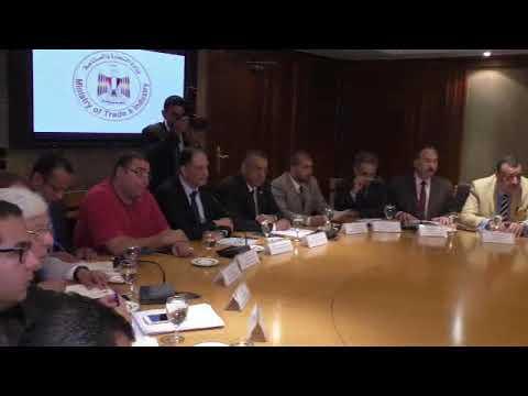 وزير التجارة والصناعة يبحث مع الاتحاد المصرى لجمعيات المستثمرين سبل تنمية وتطوير الصناعة المصرية