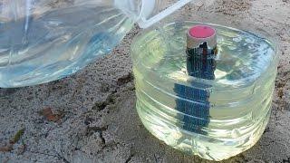 ВРВ - петарда в бензине 2 литра МЕГА БУМ / firecracker in 2 liters of gasoline MEGA BOOM