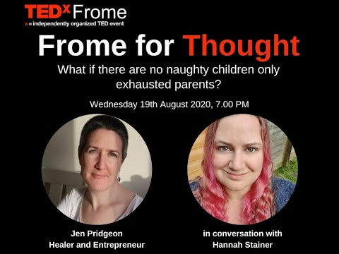 Jen on TEDx Frome for Thought