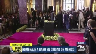 Aplausos, Lágrimas Y Vallenato En último Adiós A Gabriel García Márquez 21 De Abril De 2014
