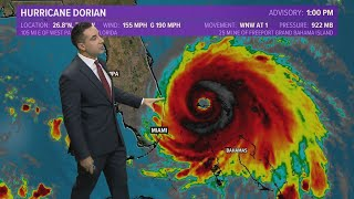 Hurricane Dorian Update: Latest path map and where it could be going next