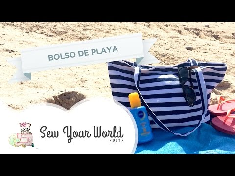 Como Hacer un Bolso de Playa #DIY