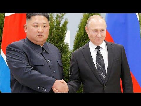 Σε εξέλιξη η συνάντηση Πούτιν – Κιμ