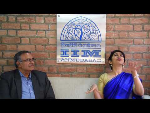 Prof. Kandaswamy Bharathan, IIMA in a brief talk with Ms. Meenakshi Sheede, Festival Consultant