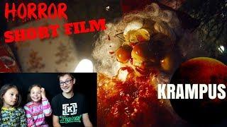 [FNSHF - 40] Krampus Short Horror Film Reaction!!!