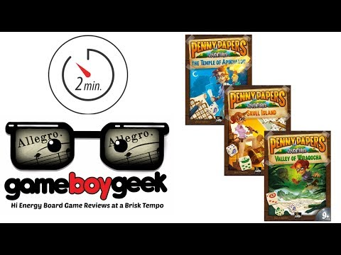 The Game Boy Geek's Allegro (2-min) Comparison of the Penny Paper Series
