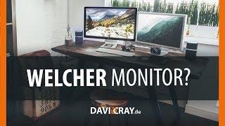 Der beste Monitor für dich: Das musst du vor dem Kauf beachten!