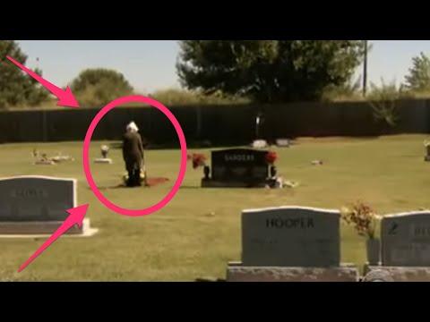 Esta Señora Fue A Visitar A La Tumba De Su Marido Cuando Algo ESPANTOSO Ocurrió… ¿COMO PUEDE SER?