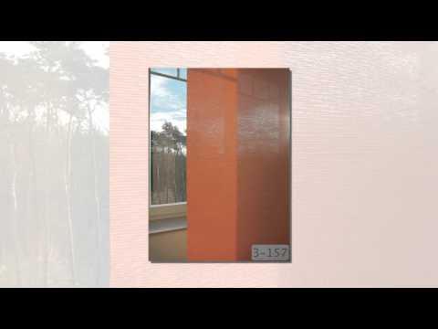 Schiebevorhang - moderne Gardinen