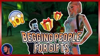 HOW TO BEG FOR 🎁 GIFTS 🎁 in AVAKIN LIFE!?!? | Avakin Life